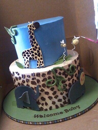 Zootopia baby shower cake Baby Shower Cake Designs ...