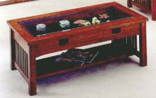 Mission Curio Coffee Table Furniture Pinterest