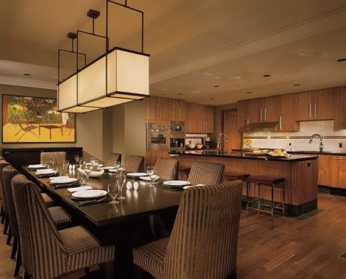 Kitchen and dining room combo kitchen ideas pinterest for Dining room kitchen combination