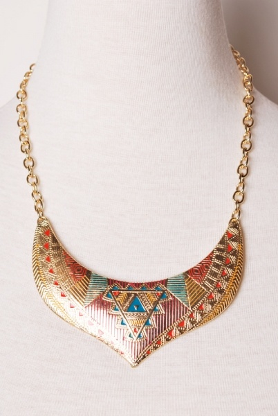 Walk Like an Egyptian Necklace >> Absolutely Stunning Necklace! $17... might have to buy this one!