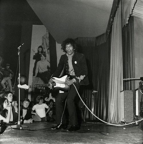 Jimi Hendrix, March 19, 1967 - Star Club, Hamburg, Germany