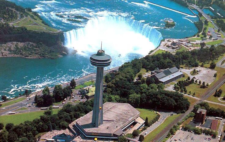 Skylon Tower Niagara Falls Canada Traveling Pinterest