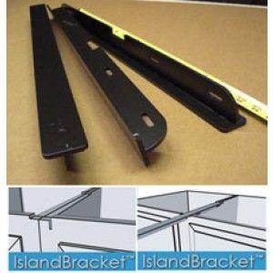 Countertop Overhang Supports Kitchen Reno Ideas Pinterest