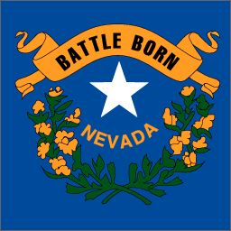 picture of nevada state flag