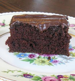 Food for A Hungry Soul: Last-Minute Chocolate Cake with Mocha Frosting