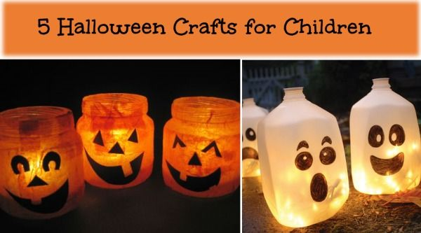 Halloween Crafts for School Age Children