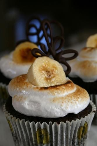 CARAMELIZED BANANA AND NUTELLA CUPCAKES http://sulia.com/channel ...