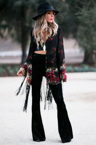 Outfits with Bell Bottom Pants-23 Ways to Wear Bell Bottom advise