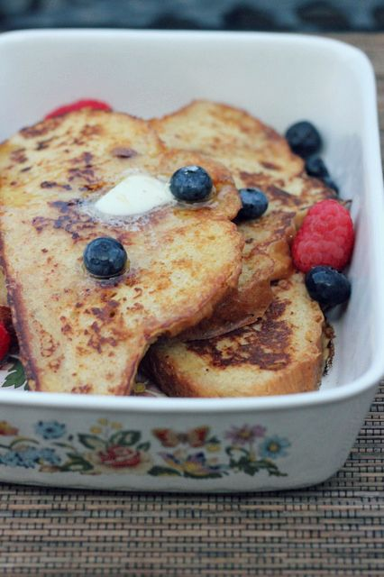 Buttermilk French Toast - A Hint of Honey (perfect way to use up ...