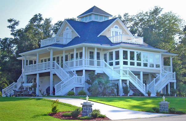 Cottage With Wrap Around Porch Houses Pinterest