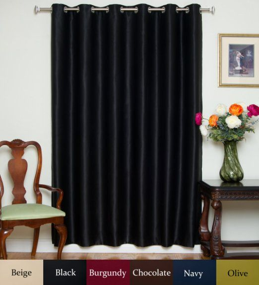 ... 80 Inch Wide By 120 Inch Long Panel - Window Treatment Curtains
