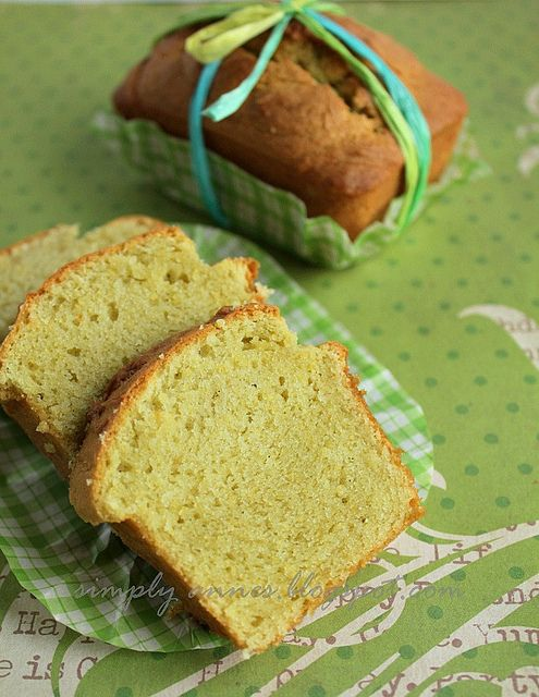 Avocado Pound Cake | Oh the Sweetness... | Pinterest