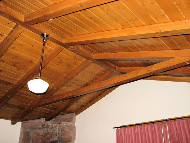 Pin by holly schutz on log homes and decor pinterest for Cathedral ceiling beams
