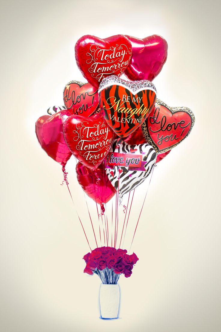 valentine balloons pictures