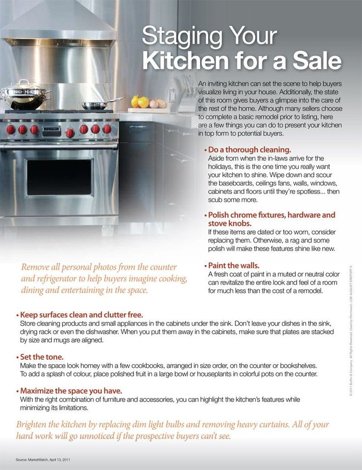 Pinterest discover and save creative ideas for Kitchen staging ideas