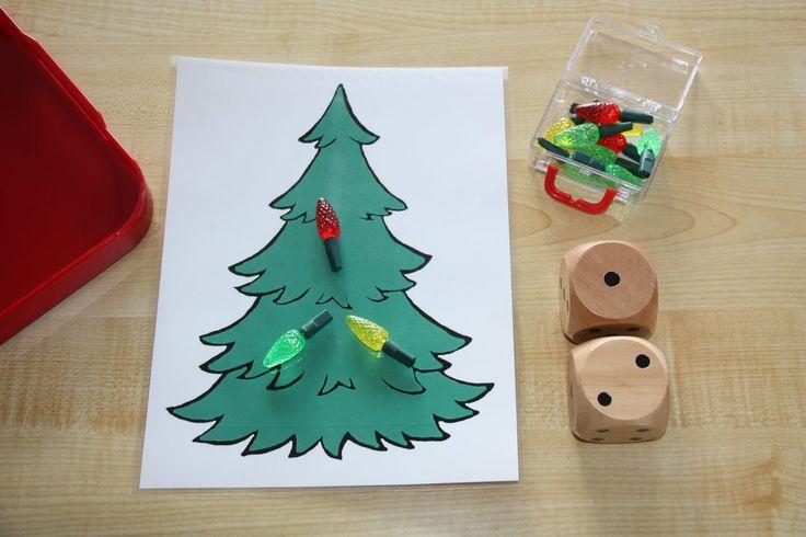 Christmas Tree Lights math | Winter Celebration | Pinterest