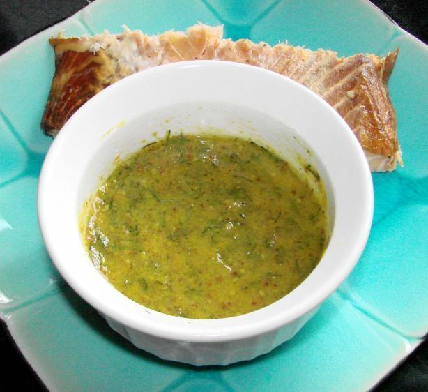 Mustard Dill Sauce | Recipe