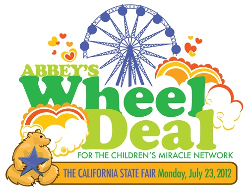 Esther's Blog: Charity Event at The California State Fair on July 23, 2012 | World Record Breaking | Abbey's Wheel Deal