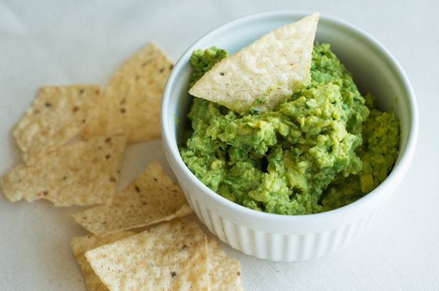 ... Home: Guacamole -simple. and simply the best guac recipe ever