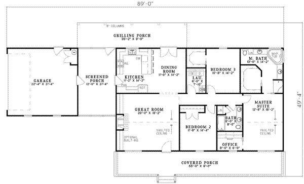 Floor Plan With Breezeway Whats Up Pinterest