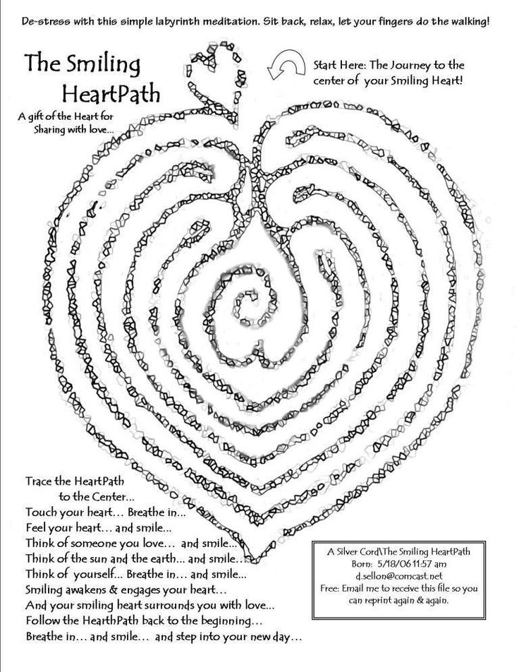 printable finger labyrinth designs; could make real labrynth with ...