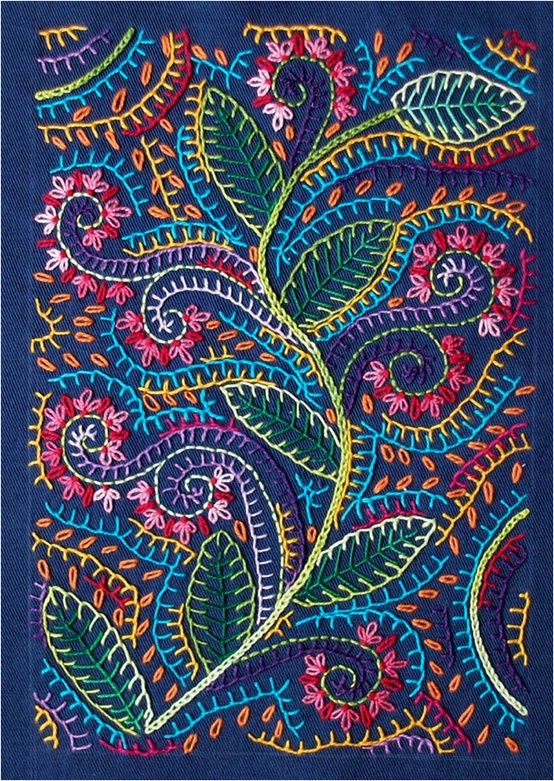 Hippie Embroidery. | Hand Embroidery | Pinterest