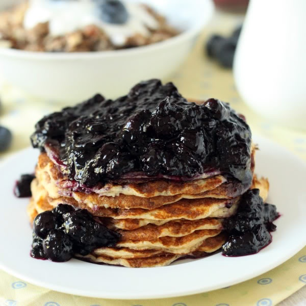 Blueberry Maple Syrup Sauce | Texanerin Baking