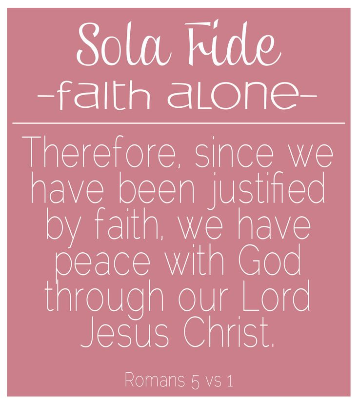 Reformation Day - Faith Alone printable