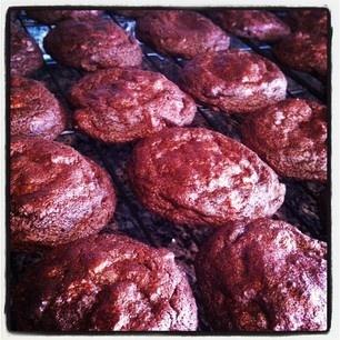 Dark Chocolate Espresso Cookies   My Baking   Pinterest