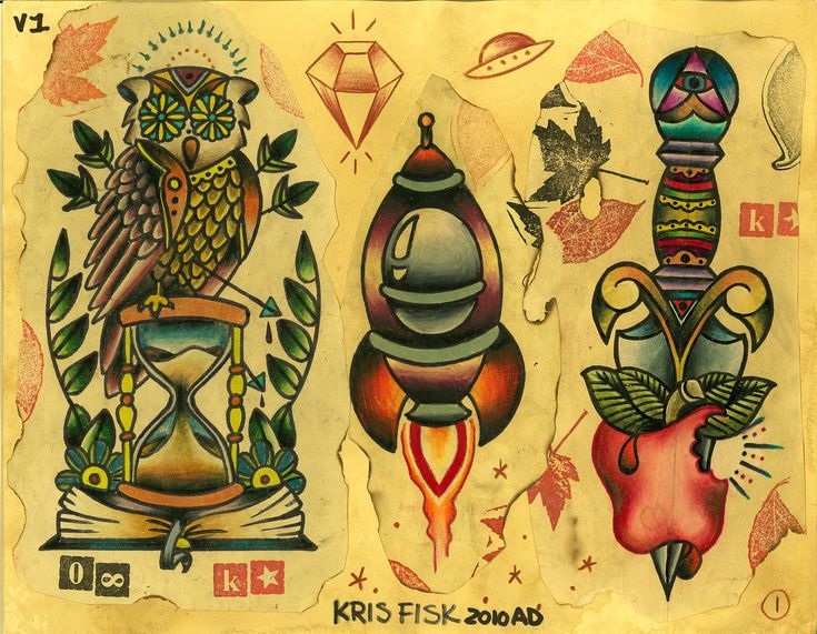 traditional tattoo flash wallpaper - photo #38