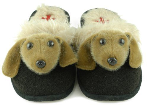Fuzzy Nation Dog Breed Slippers Special Sale Price! (Large 8 - 9 ...
