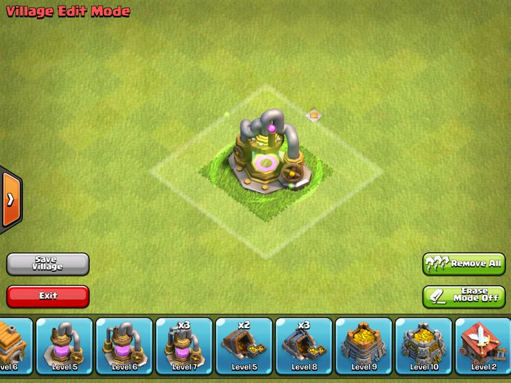 clash of clans level 5 dragons rigs for sale