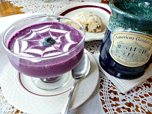 confectionerybliss: Cold Blueberry Soup {by Americus Garden Inn Bed ...