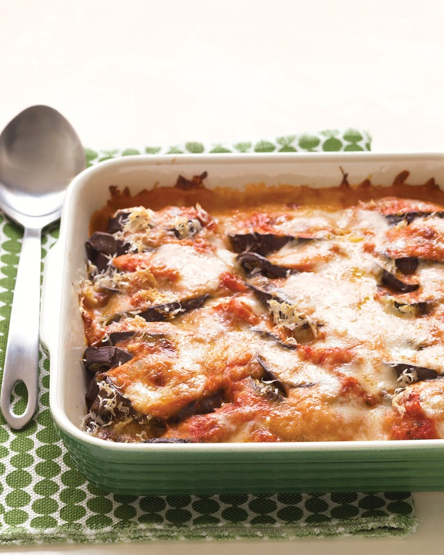 lighter eggplant parmesan - love recipes where I have a majority of ...