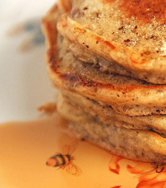 Banana pecan pancakes... | Bread all kinds next please... | Pinterest