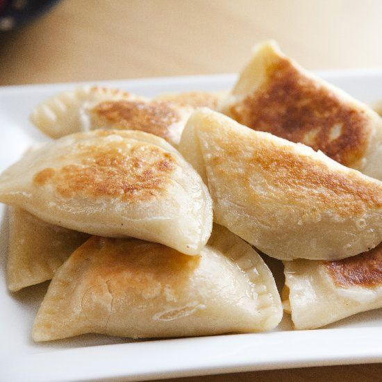 Classic Polish Pierogies with Potato & Cheese in a delicious Sour ...