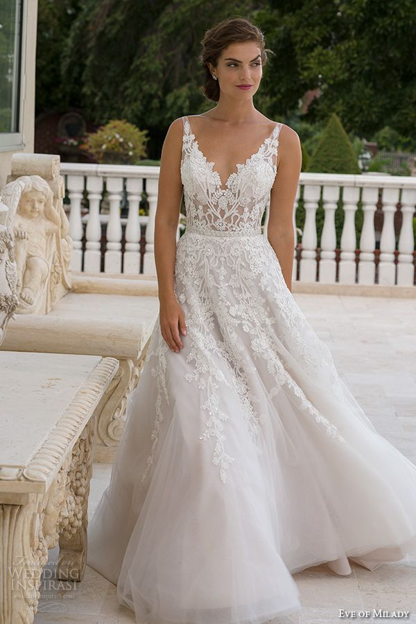 Wedding dress styles for plus size 2017