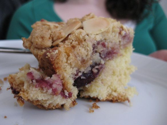 ... ray's cherry coffee cake--made this at Christmas, and it was AMAZING