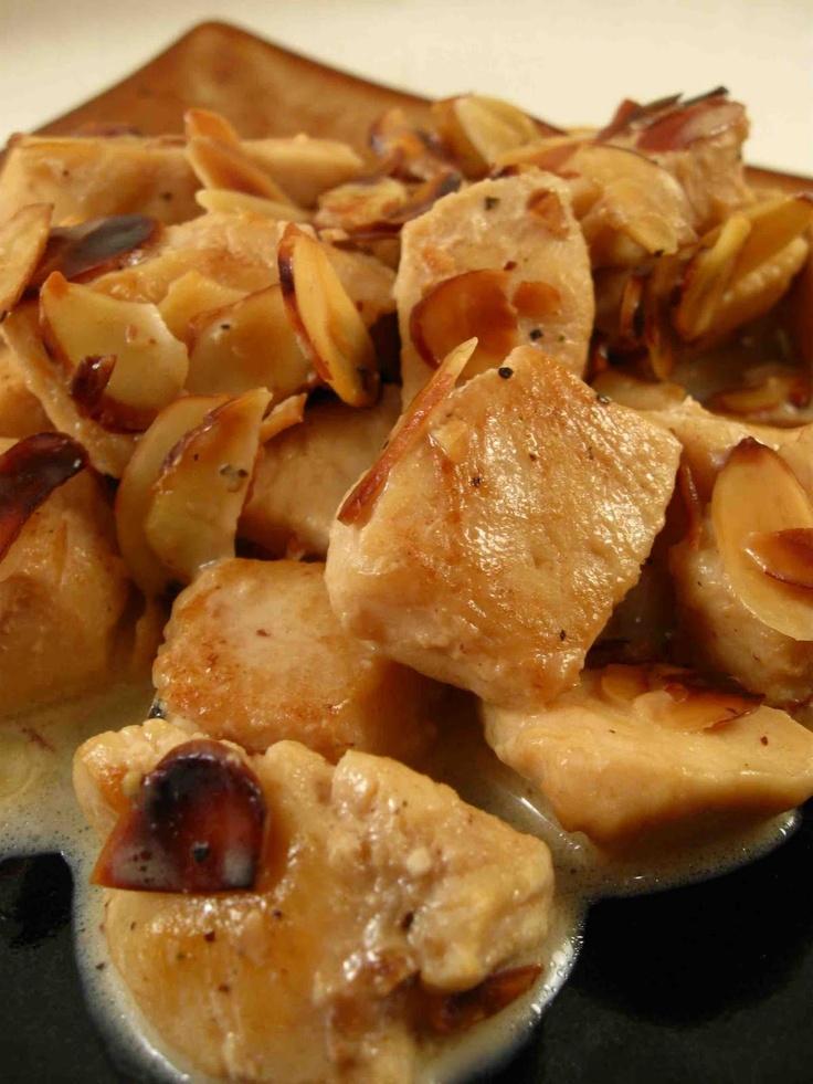 Almond Chicken | Recipes | Pinterest