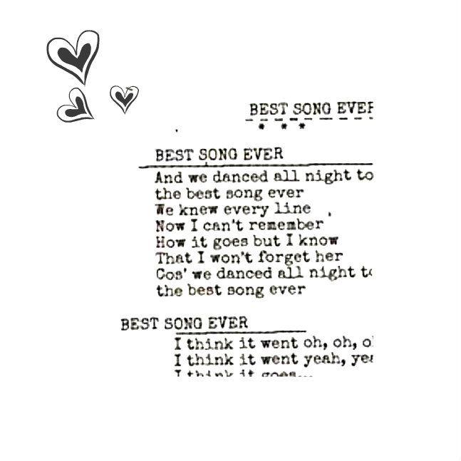 D Best Song Ever Lyrics Best Song Ever Lyric Q...
