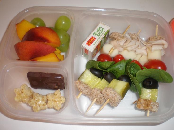 "Sandwich on a Stick"" | Kid Lunch | Pinterest"