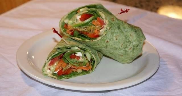 Crunchy Hummus Wraps Recipes — Dishmaps