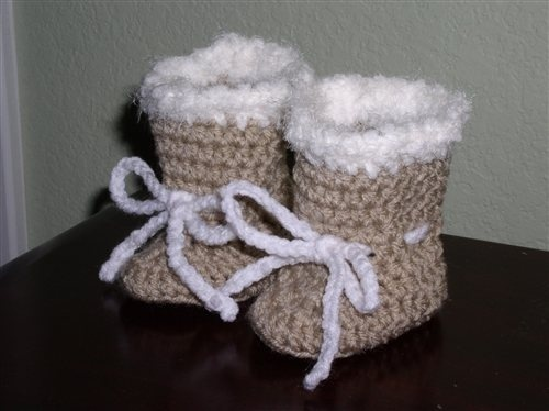 Baby Crochet Uggs Pattern