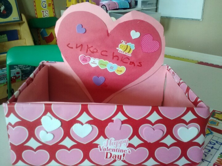 valentine box shoebox