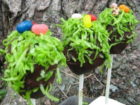 """... Chef's Gluten Free """"Easter Egg Hunt"""" Vegan Chocolate Cake Pops"""