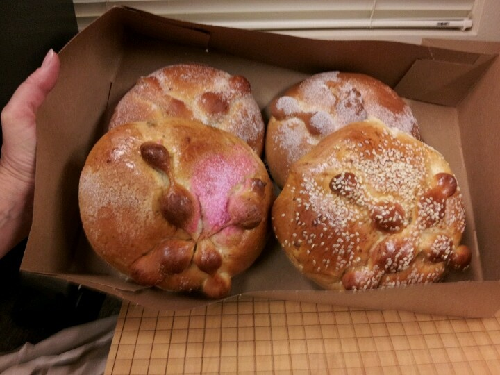 Day of Dead bread | oCtObEr | Pinterest