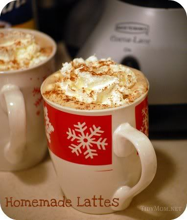 How to make delicious easy Lattes at home!