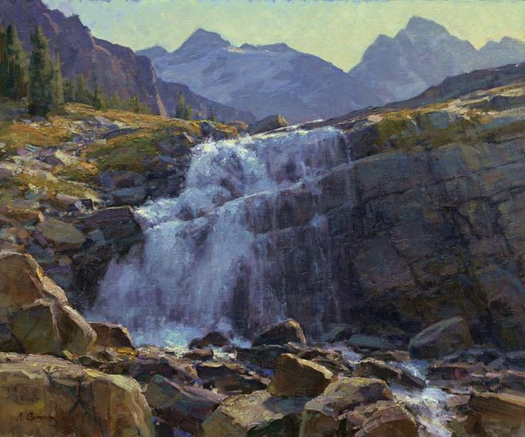 Clyde aspevig such beautiful rocks inspiring paintings for Landscaping rocks victoria bc