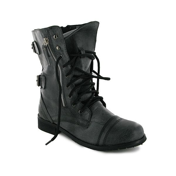 black combat boots shoes accessories