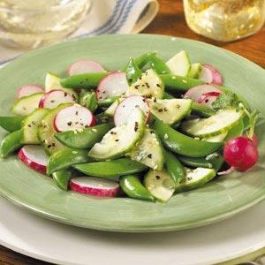 Sugar Snap Pea Salad | Food | Pinterest